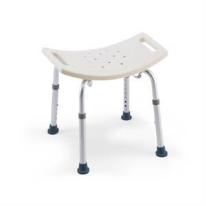 Shower Chair Without Back - 315 lb Capacity - 3 Year Warranty